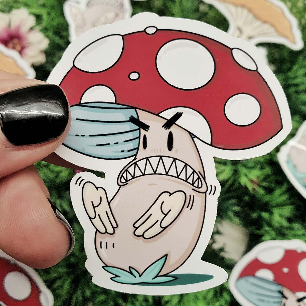 Funghi porcini e funghi incazzati