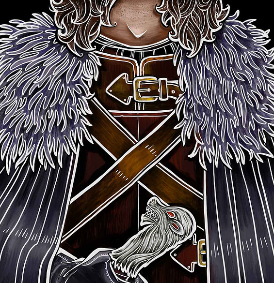 Serie Game of Thrones – Jon Snow